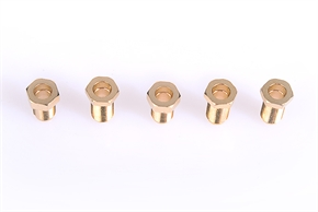 Copper(CU) material Electronic Fastener Precision Connector for Signal Receiver